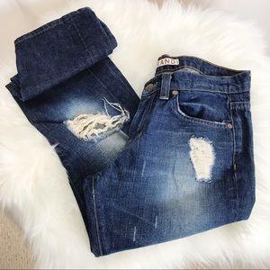 J BRAND Pencil Leg Distressed Jeans-26